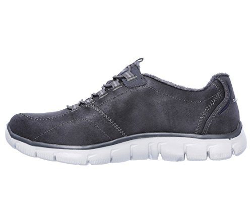 Skechers Womens Empire Latest News Synthetic Trainers Grigio