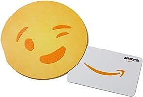 Carte cadeau Amazon.fr -€20 - Dans un Étui Emoji