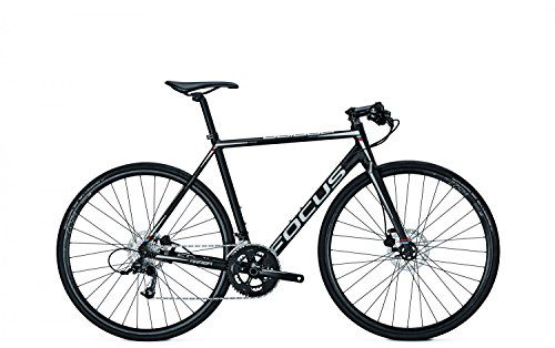Crossrad / Fitnessbike Focus ARRIBA DISC APEX 20G 28\', Rahmenhöhen:48;Farben:Magicblackmatt