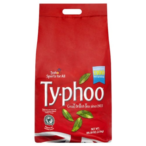 Typhoo 2x1100 One Cup Teabags For Caterers 2.5kg