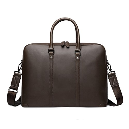 Men's messenger bag en cuir porte-documents d'entreprise _ 14\\