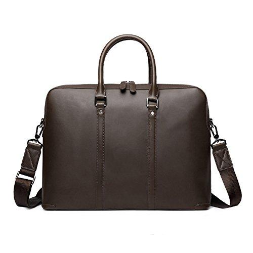 Men's messenger bag en cuir porte-documents d'entreprise _ 14\\
