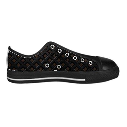 Dalliy Metal Men's Canvas shoes Schuhe Lace-up High-top Sneakers Segeltuchschuhe Leinwand-Schuh-Turnschuhe E