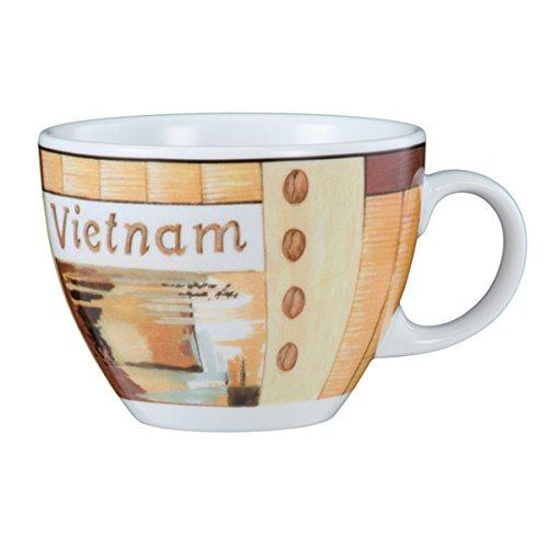 Seltmann Weiden VIP. Cappuccinotasse (1131), Kaffeetasse, Teetasse, Tasse, Porzellan, Vietnam, 220...