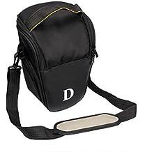 Fulltime (TM) caso bolsa de la cámara para DSLR Nikon D4D800D7000D5100D5000D3200D3100D3000D80