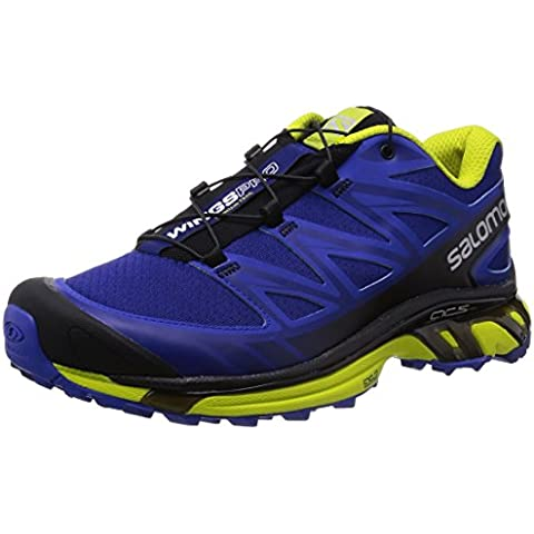 Salomon Herren, , wings pro g, mehrfarbig (blue/cobalt/gecko green)