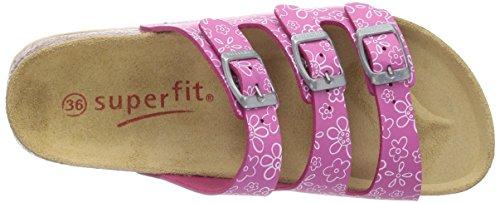 Superfit FUSSBETTPANTOFFEL 400113, Mädchen Pantoffeln Pink (PINK KOMBI 64)