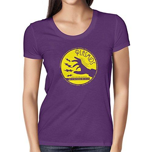 Bioshock Kostüm - Texlab Plasmids - Damen T-Shirt, Größe L, Violett
