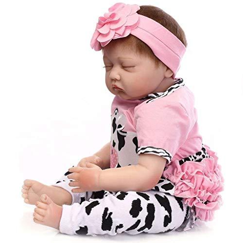 a68dfce9af HOOMAI 22inch 55CM realista Dormir reborn muñeca bebé niñas vinilo suave  silicona baby doll Niños pequeños