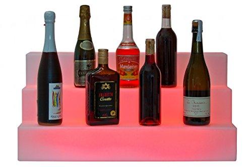Luminatos 15.1 LED Flaschen Display Theken Display für Flaschen verschied. Farben