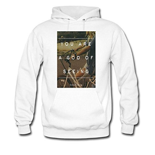 weileDIY motto DIY Custom Women's Printed Hoodie Sweatshirt White_B