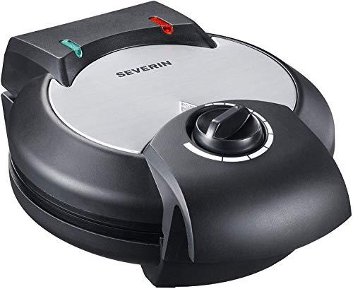 Severin Cialdiera automatica WA 2103 1200W, colore nero-acciaio satinato