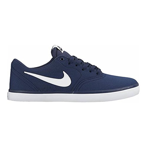 separation shoes fa8fe 90a48 Nike SB Check Solar Cnvs, Scarpe da Skateboard Uomo, Blu (Midnight Navy