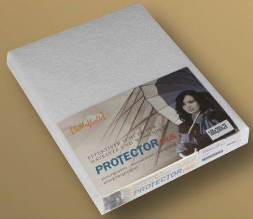 Kunststoff-matratze-protector (PROTECTOR plus / Topliner für Matratzen und Wasserbetten von [:SchlafKult:] -120x200)