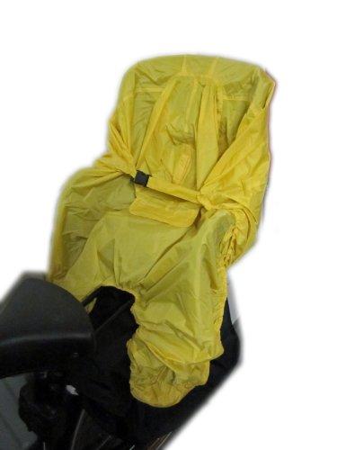 Regenschutz Hock Rain Bow uni/gelb für Kindersitz Rainbow Poncho 2014