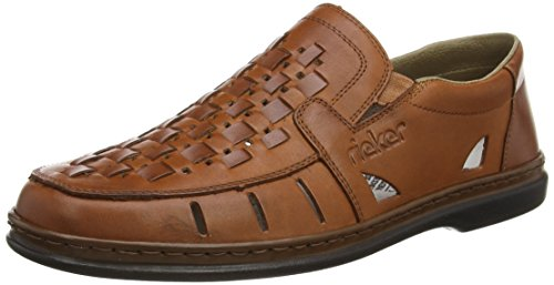 Rieker 12389-24, Men's  Loafers, Brown (Whisky/Whisky), 9 UK (43 EU)