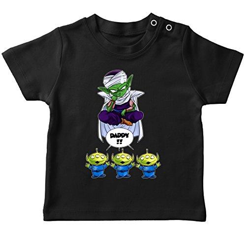 Parodie auf Piccolo von Dragon Ball und Toy Story - Manga Baby T-Shirt (724) (Aus Toy Baby Story)