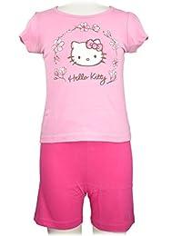 Hello Kitty Mädchen Schlafanzug rosa (vers. Größen)