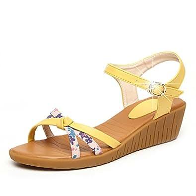 29653112f62 SPLNWTFHCNWPCB women Sandals platform thick soled shoes Wedges shoes Flat  platform shoes-