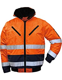 Texxor Warnschutz-pilotenjacke Vancouver 4107 Orange Gr Business & Industrie L Neu Baugewerbe