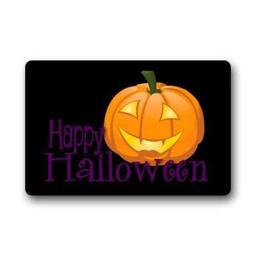 OKME Custom Fantastic Doormat Happy Halloween Funny Jack-O-Lantern Art Door Mat Rug Indoor/Outdoor/Front Door/Bathroom Mats£¬Bedroom Doormat 15.7