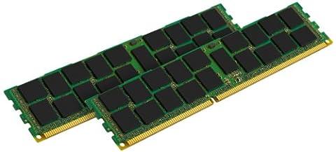 Kingston ValueRam KVR16R11S8K2/8 Kit de 2 Mémoire RAM 8 Go 1600 MHz DDR3 ECC Reg CL11 DIMM SR x8