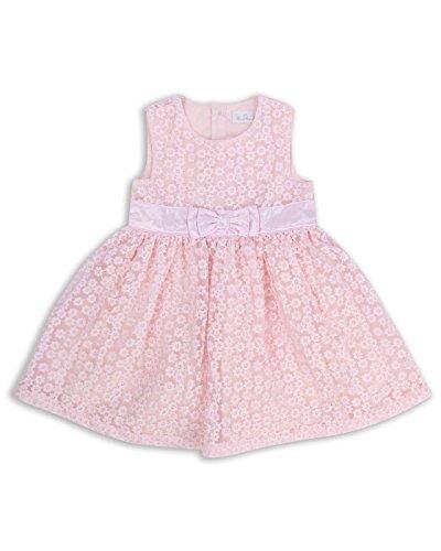The Essential One - Bebé Infantil Niñas - Vestido de Princesa Fiestas - 18-24 M - Rosado - EOT374