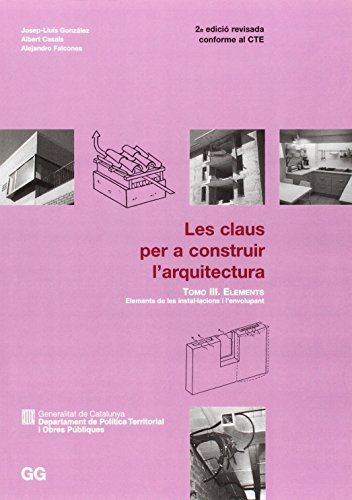 Portada del libro CLAUS PER A CONSTRUIR-III-ELEMENTS