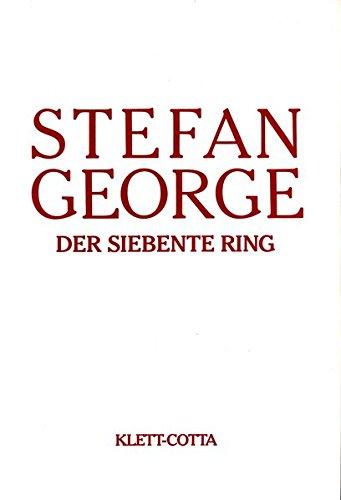 Sämtliche Werke in 18 Bänden. Bd. 6/7: Der siebente Ring