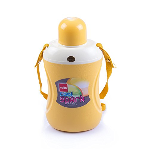 Cello Spark Water Bottle, 2 Litres, Yellow