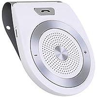 Aigoss Bluetooth 4.1 Manos Libres Coche Kit, AUTO POWER ON con Sensor de Movimiento Integrado