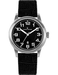 Alpha Saphir Herren-Uhren Quarz  Analog 340A