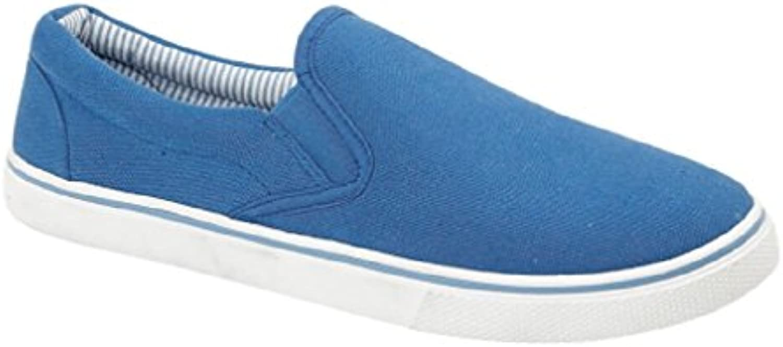 Footwear Sensation - Mocasines de sintético para hombre