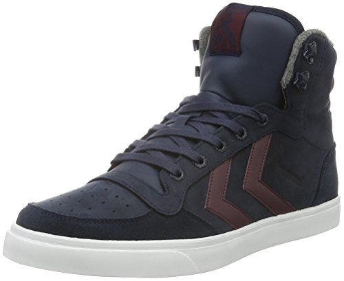 hummel-stadil-winter-sneakers-hautes-mixte-adulte-bleu-total-eclipse-43-eu
