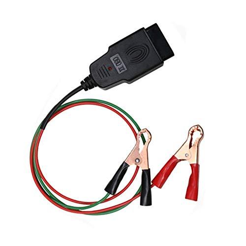 TONWON Connettore di Risparmio di Memoria, OBD2 Car Diagnostic Cable & Cavo di Risparmio della Memoria, Emergenza Alimentazione Elettrica Interfaccia per l'assistente Batteria per Auto
