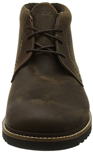 Rockport Herren Marshall Chukka Boots Braun (Brown Oiled Leather)