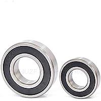 zhuao Rodamientos De Bolas De Trinchera Profunda, Cojinetes De Micrometal, Rodamientos De Bolas En Miniatura 6x19x6mm 5 Piezas