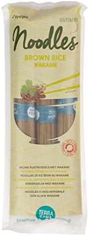 Terra Sana - Noodles de arroz integral y wakame - 5850-250gr-Terrasana