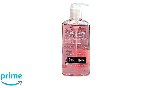 Bagnoschiuma Neutrogena : Neutrogena visibilmente pompelmo rosa gel detergente ml