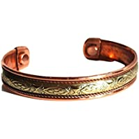 Krystal Gifts UK Reiki Energie Geladene Kupfer Chakra Balancing Armband (Design 2) preisvergleich bei billige-tabletten.eu