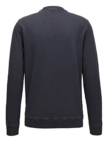 BOSS Orange Herren Sweatshirt Wlan Dunkelblau (404)