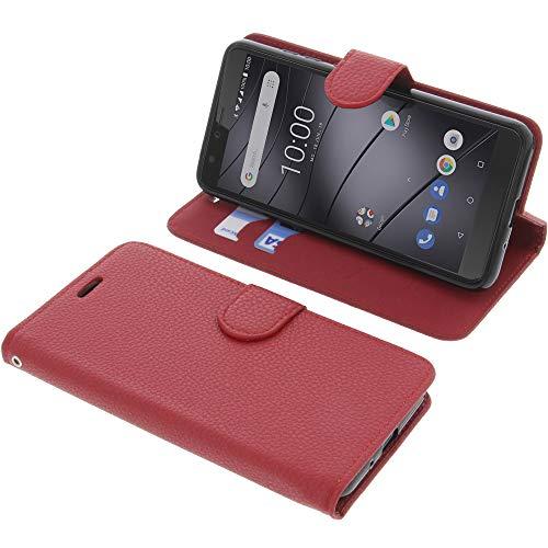 foto-kontor Tasche für Gigaset GS100 Book Style rot Schutz Hülle Buch