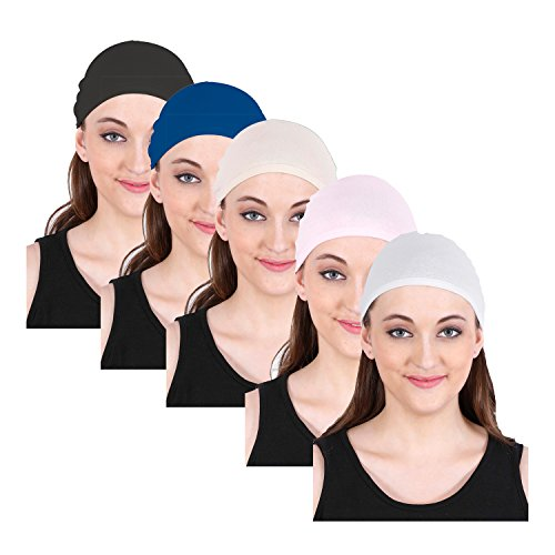 Colorfly Helmet Cap, Best as a Helmet Liner, Great Cycling Caps, Running Sports Beanie, Perfect under Helmets, Covers Ears and Wicks Moisture -ASSORTED COLORS-(COLORS MAY VARY)