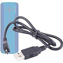 Duragadget Câble USB pour Bolse SZ-801, EasyAcc DP100, Mpow Armor MBS5 et et Wirezoll Étanche 16W Enceinte sans Fil - Charge + synchronisation