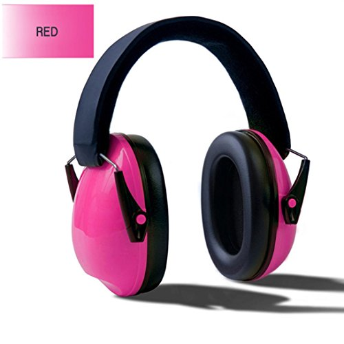 LANDFOX 2018 Neu Mode Portable Baby Kids Anti Lärm Ohrenschützer Headset Gehörschutz Ohrschützer (Rosa) -