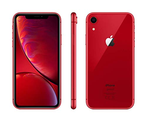 "Apple iPhone XR - Smartphone de 6.1"" (64 GB) rojo"