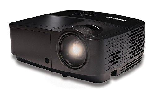 InFocus IN124x XGA DLP Network Projector, 4200 Lumens, HDMI, 2GB Memory