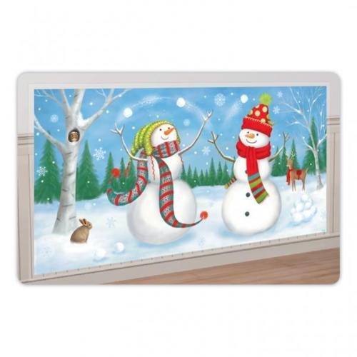 Amscan International Weihnachten Winter Freunde Horizontal Szene Setter Banner