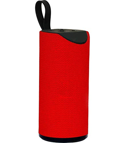 AkashayamTG113 Speaker (10 * 10 * 5, Red)