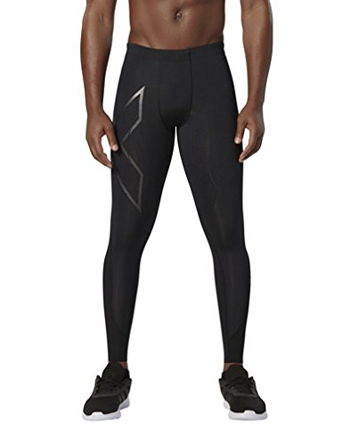 2XU Herren Mens Elite Mcs Compression Tights [Xform] Hose,Mehrfarbig (schwarz 0074),L